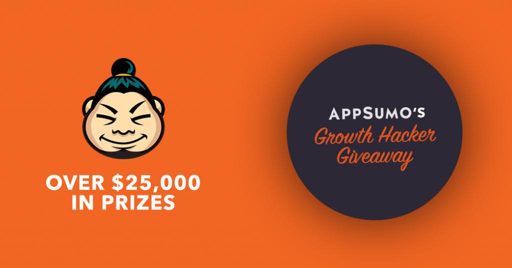 AppSumo Growth Hacker Giveaway