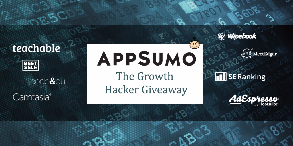 AppSumo Growth Hacker Giveaway