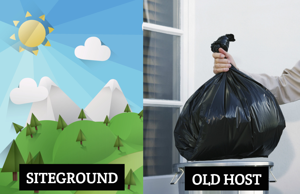 Siteground review - old host garbage